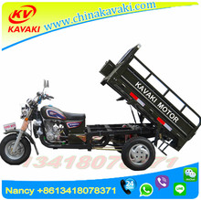 2017 Guangzhou KAVAKI Factory One Cylinder 4 Stroke Gasoline CNG Trike 3 wheel motorcycle chopper