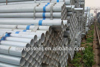thin wall galvanized steel 6 inch pipe