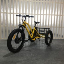 48V 3 wheel seat three wheeler electric tricycle with LCD panel
