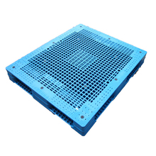Hot sale heavy duty racking system Double faced plastic pallet