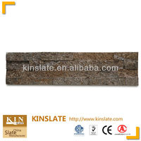 Hot products-Chinese Yellow flagstone mat mesh stone tile