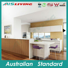 AIS KC-26 Formica finish kitchen cabinet, Australian house kitchen furniture, Foshan kitchen producer