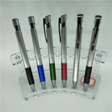 Good material classic silver plastic parker ball pen price picture