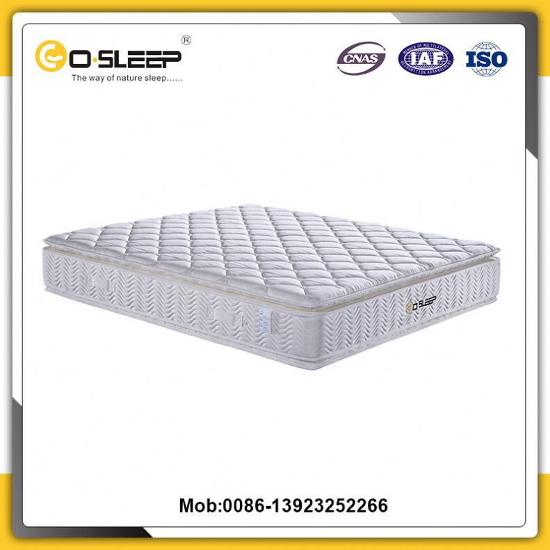 European size natural comfort luxury compressed spring bed mattress