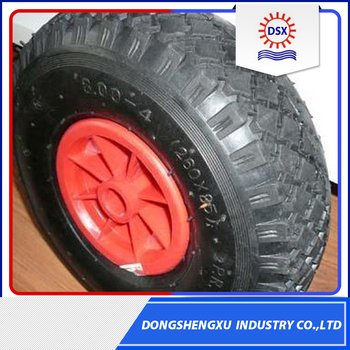 High Capability Solid Rubber Wheel 10x4.00-4