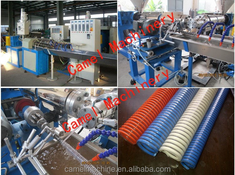 machine production of silicone hoses