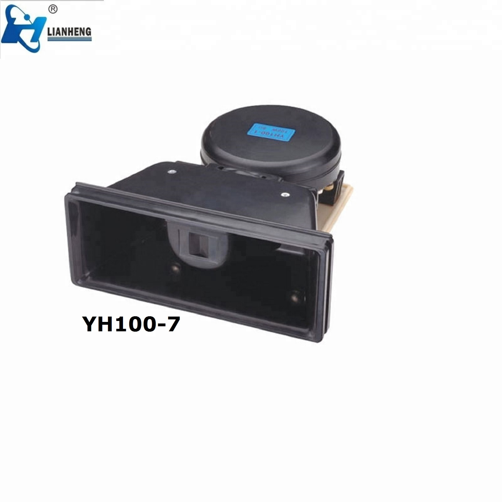 high quality powerful voice car speaker,horn,trumpet YH100-7 with CE certificate