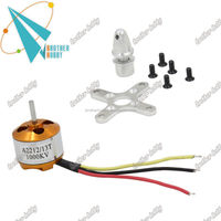 180 degree BHM2212 rc mini robot servo motor with 4 plastic and 1 copper gear for toys rc car/plane/ship