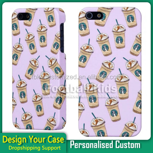 Wholesale Good Quality 3D Sublimation Custom Design Milk Tea Mobile Case For iPhone 5c Mobile Phone Accessories