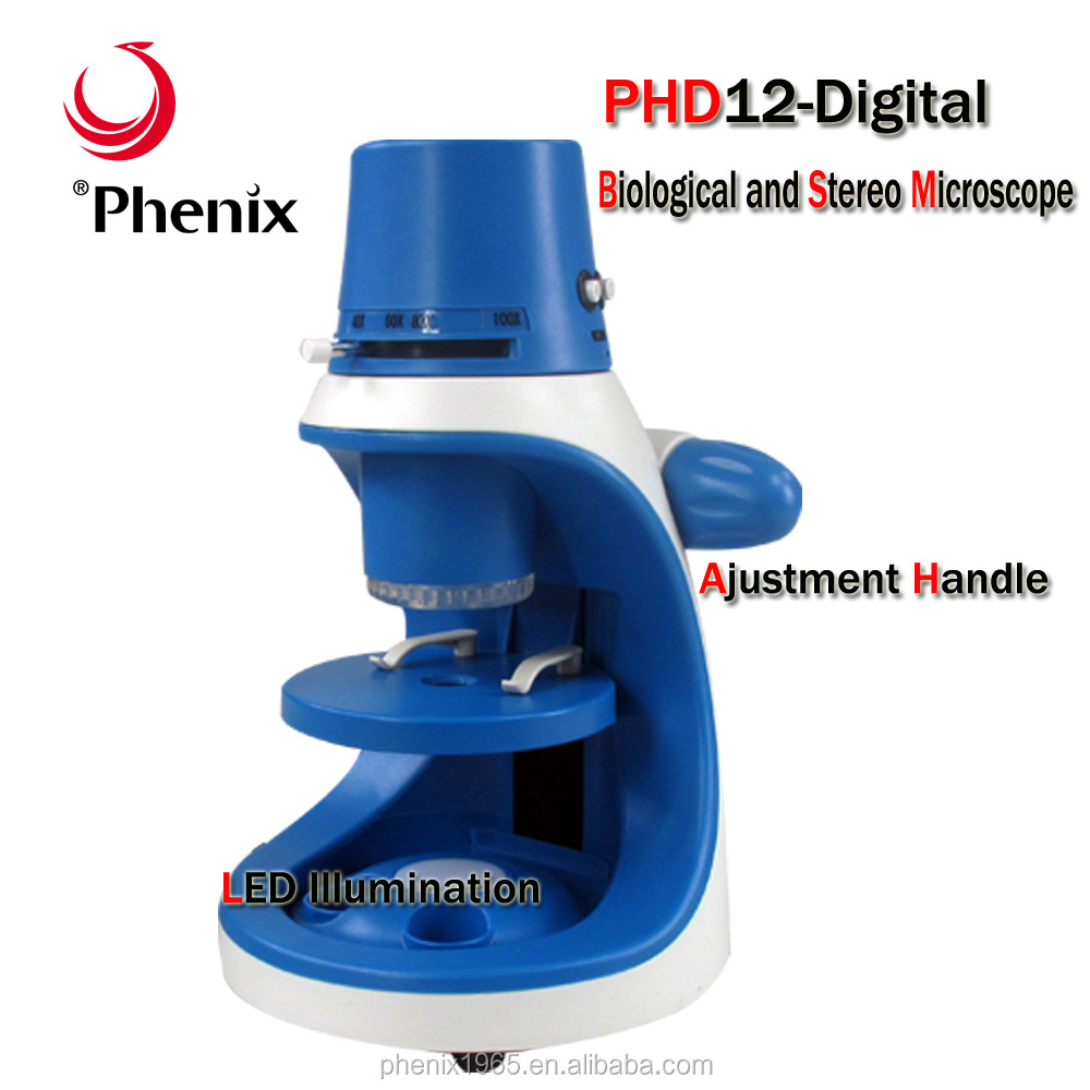 Mini Phenix PHD12 WIFI and USB double output series of microscope made in China