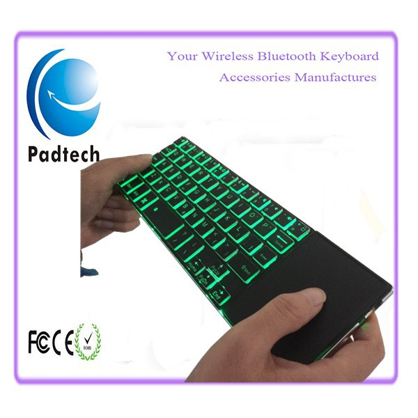 Wireless Multifunctional Bluetooth Keyboard with touchpad