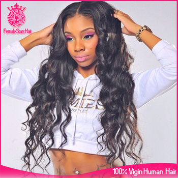 Glueless Lace Front Human Hair Wigs For Black Women Brazilian Virgin Hair 30 inch 180 Density Female Star Hair