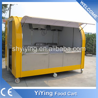 2016 New condition YiYing YY- FS290ABest Price Customization mobile food van/fast food van/van for fast food