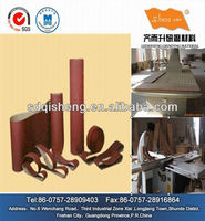 QES Abrasive belt roll of aluminum oxide
