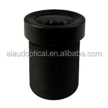 3.6mm F2.0 102 Degree m12 cctv lens with IR cut filter
