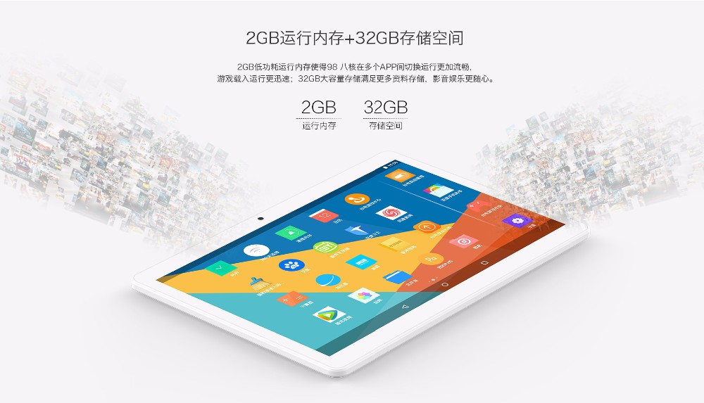 "Teclast 98 Octa Core 3G 4G Phone Phablet Android 6.0 MT6753 Octa Core 10.1"" 1200*1920 Tablet PC 2GB 32GB BT 5.0MP Camera FDD TDD"