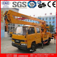 14m aerial platform working truck for Japanese brand sale.