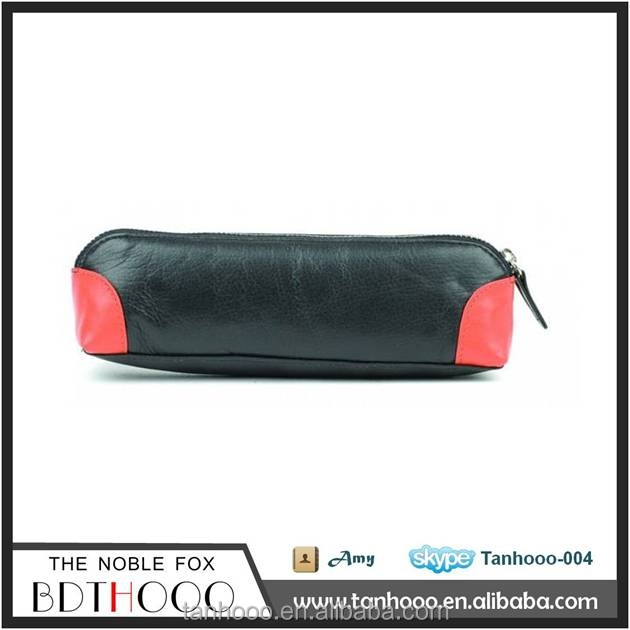 Quality Durable Leather Mini Make Up Bag / Pencil Case