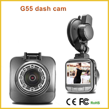 G55 Novatek 96650 Mini camera dvrs Full HD 1080 p aparcamiento Video registrador de la vision nocturna caja negro Carcam Dash