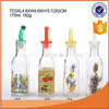 175ml GLASS essential oil bottle with plastic and metal nozzle/glass bottle for vinegar