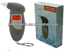 2014 hot selling portable wine alcohol breath analyzer