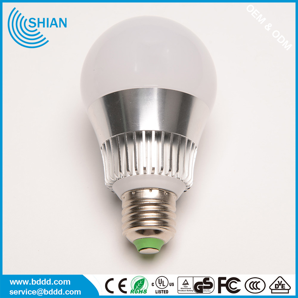 high quality led lighting bulb 5w/7w/9/12w bulb light e27 with 2 years warranty ,led light bulb parts