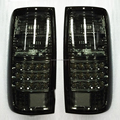 1991-1996 year Land cruiser LC80 FJ80 Prado 4500 LED Tail Light Smoke Black CN