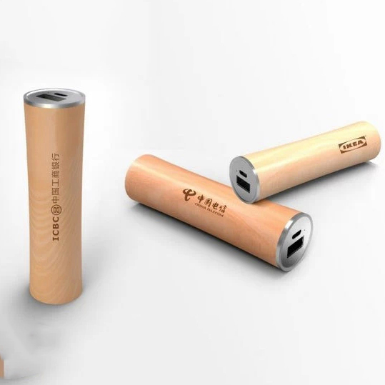 Exceptional Power Bank, Battery Charger, Exceptional Nature Series Nature Cylinder Power Bank Gifts