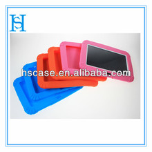 kids case for ipad mini silicone case,shockproof silicone rubber case for 8 kids tablet