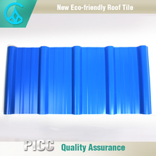 Excellent Anti Corrosion pvc plastic roof tile and light weight pvc flexible plastic sheet