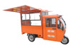 covered electric multi-functional food truck /fast food tricycle