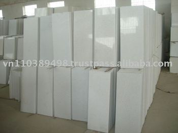 pure white marble 80x30x3cm polished