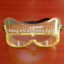 2016 high quality EN 166 safety goggles medical and industry disposable safety goggles made in China .