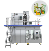 6000 CPH Automatic Juice Aseptic Carton Filling Machine Beverage Aseptic Packing Machine