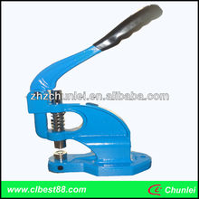Eyelet manual grommet press machine