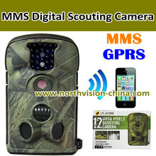Digital Trail Camera,MMS/SMS/Email via GSM Network,Quad band, lower power consumption,940nm IR LED