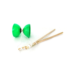Wholesale Children's Toy Green Wooden Diabolo Best <strong>yoyo</strong> with High Quality