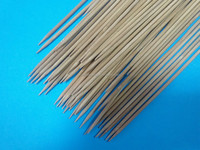 20CM Thin Bamboo Sticks For Sale Bamboo BBQ Skewer