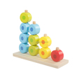 Wooden preschool materials kids wooden block toy