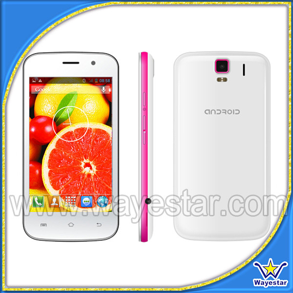 Mini Android cell phone 4 inch touch screen