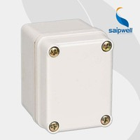 Saipwell quick offer IP66 DS-AG-0506 50*65*55mm ABS wall mounted plastic waterproof enclosure