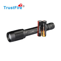 Camping Accessories Z5 cree xml t6 Flashlight 1600lumen rechargeable led flexible torch light with 2*18650 battery
