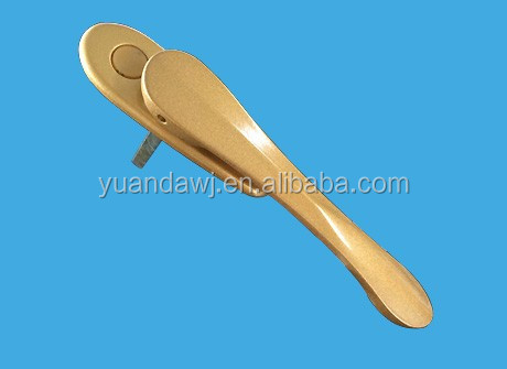 Zinc pop up handle for building
