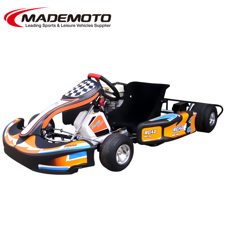 1 seat gas motor rental fast Honda engine gasoline buggy mini cheap wholesale adult pedal car prices go kart