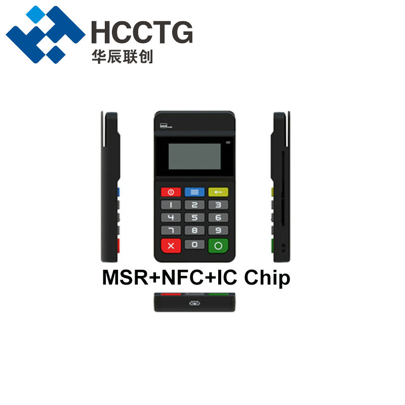 Good Quality Android Mini Mobile Nfc Terminal Pos HTY711