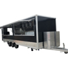 China made coffee cart mobile food trailer / top sale ice cream machine food cart/ China food kiosk & truck & cart