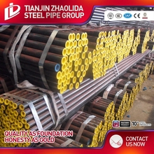 ASTM A106 Gr.B thermal conductivity seamless steel pipe made in China