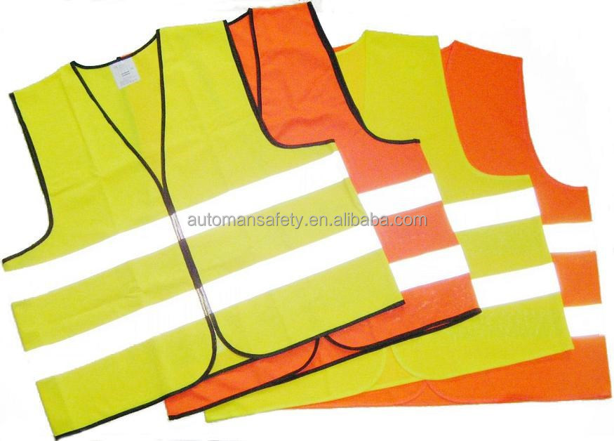 2015 cheap one time usage reflective disposable safety vest
