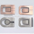 R-0408-18 Hot sales 35mm low price metal leather goods buckle suspender buckles for strap