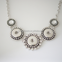 Wholesale Snaps necklace jewelry Fit 18-20mm Ginger Snaps Buttons For Women Diy Jewelry KB0179